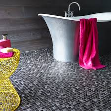 Diy Bathroom Flooring Ideas Mosaic Tile Bathroom Floor Design Best 25 White Mosaic Bathroom