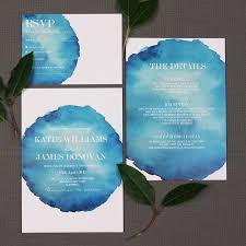 wedding invitations northern ireland bold watercolour wedding invitation by beija flor studio