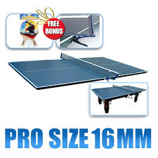 Table Tennis Dimensions New 16mm Pro Size Pool Table Tennis Ping Pong Table Top