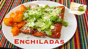 imagenes enchiladas rojas enchiladas rojas con papas receta super rica y facilisima youtube