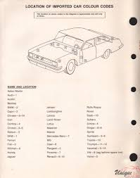 lexus spare parts nsw toyota paint chart color reference