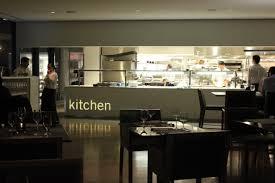 kitchen dazzling restaurant open kitchen design interior of