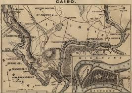 Cairo Illinois Map by So Many Ancestors