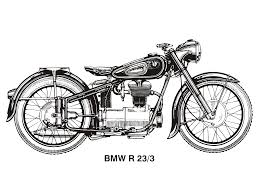 bmw motorcycle vintage bmw clipart