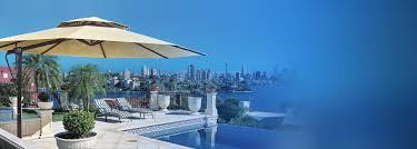 outdoor cantilever umbrellas pool u0026 patio tropicover
