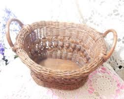 Long Oval Basket Etsy