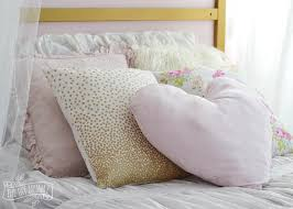inspired bedding make shabby chic glam kids bedding c s bedroom makeover