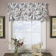 Livingroom Valances Rosabel Floral Tuck Valance