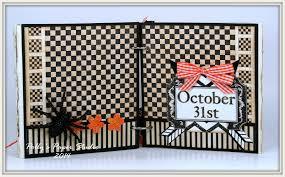 vintage halloween mini album polly u0027s paper studio