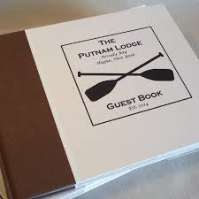 guest sign in books custom vacation home guest book family cabin guest books guest