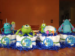 inc baby shower ideas monsters inc cakes craft ideas diapers