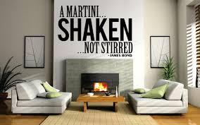 james bond martini quote james bond martini quote new vinyl decal design sticker decor
