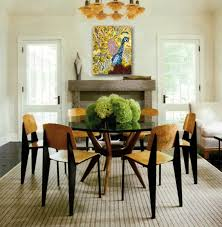 Beautiful Dining Table Decorating Photos Home Design Ideas - Glass top dining table decoration