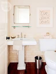 bathroom decor pretty peach powder room style at home