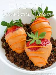 easter desserts easter strawberry dessert recipe from yummiest food cookbook