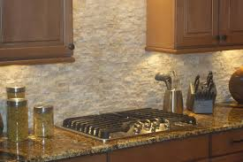 Stacked Stone Kitchen Backsplash Kitchen Appealing Natural Stone Backsplash Kitchen Tumbled Stone
