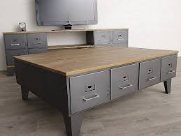 files cabinet by awesome table table basse table basse loft industriel awesome table basse