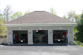 buy detached car garage with lift space awesome garages three car garage with lift