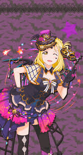 love live idol festival mari halloween by lizzrawr on