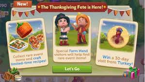 farmville country escape a thanksgiving fete quests guide v56 org