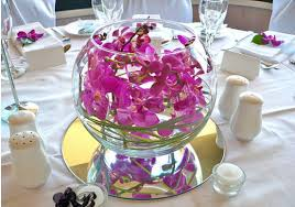 fish bowl centerpieces floral wedding centerpiece floral centerpiece photos