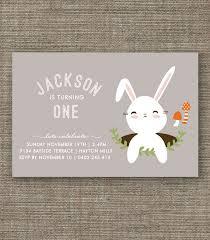 rabbit birthday invitations easter bunny rabbit invitation