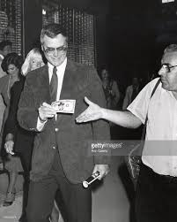 larry hagman and maj hagman during 42nd street at winter garden in picture id105830978