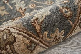 Brown And Grey Area Rugs Birch Constance Tufted Blue Area Rug Reviews Birch