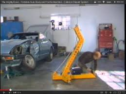 the mighty duke portable auto body and frame machine collision