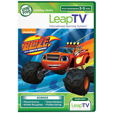 monster truck video games amazon com leapfrog leaptv blaze and the monster machines