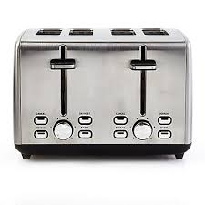 Under Cabinet 4 Slice Toaster Professional Series Stainless Steel 4 Slice Toaster Bed Bath