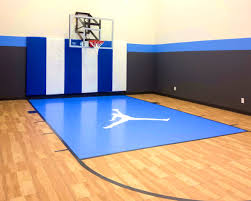 decoration amazing home basketball court design backyard courts