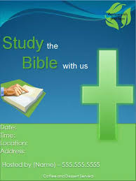 free church bible study flyer template free online flyers