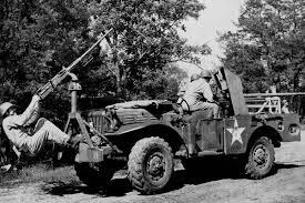 army jeep ww2 m2 50 caliber machine gun military com