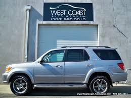 roof rack for toyota sequoia 2004 toyota sequoia limited awd navigation dvd sold