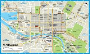 melbourne tram map melbourne city map the files 東京ファイル