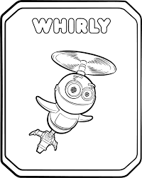 rusty rivets coloring pages getcoloringpages