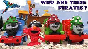 thomas friends play doh pirate toy trains sesame street elmo