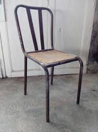 chaise bistrot chaise bistrot de style industriel métal et bois les vieilles choses