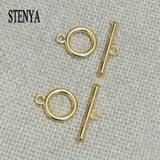 clasps necklace images Stenya tibetan craft necklace ends beads bracelet connector set jpg