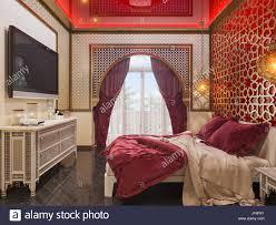 plan d une chambre d hotel illustration 3d design d intérieur chambre à coucher d une chambre