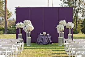 wedding backdrop modern ceremony décor photos purple ceremony backdrop inside weddings