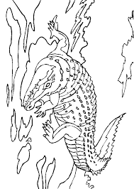 coloring page crocodile coloring pages 1