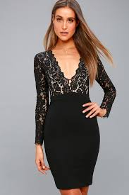 sleeve black dress chic black dress lace dress sleeve dress 67 00