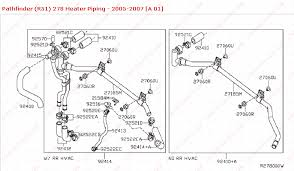 how to fix heater piping for rear heater on nissan