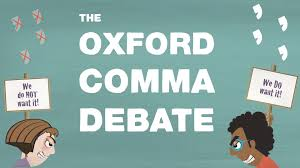 Oxford Comma Meme - grammar s great divide the oxford comma ted ed youtube