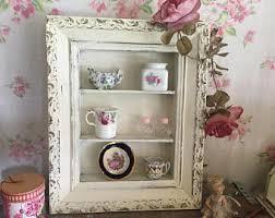 White Curio Cabinet Curio Cabinet Etsy