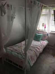 girls four poster beds home hearts single four poster bed perfect for little