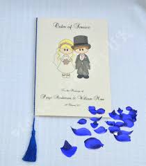 Royal Blue Wedding Invitations A5 Tassels Menu Card Tassels Wedding Tassels Royal Blue