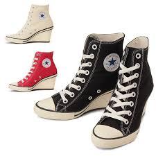 Converse High Heels Footmonkey Rakuten Global Market Converse All Star Genuine